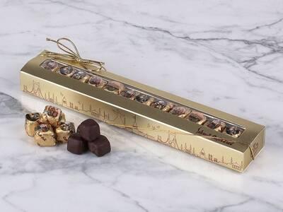 11'Li Çikolata Kaplı Fıstıklı Lokum