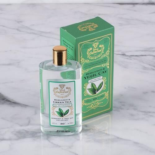 Bergamot Yeşil Çay Kolonyası