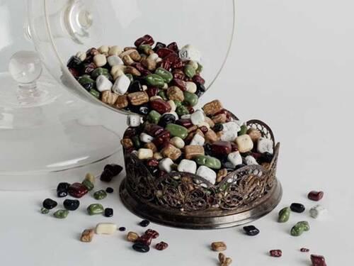 Çakıl Taşı Şeklinde Çikolatalı Draje