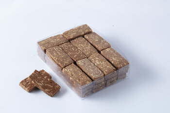 - El Yapımı Çikolatalı Bademli Kurabiye