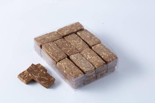 El Yapımı Çikolatalı Bademli Kurabiye