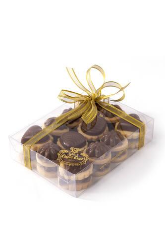 El Yapımı Çikolatalı Bisküvi - 24 Adet