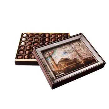 - Hediyelik Spesiyal Çikolata Aynalı Çerçeve Ayasofya