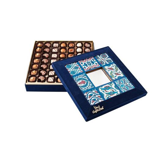 Hediyelik Spesiyal Çikolata Aynalı Çini
