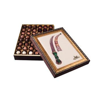 - Hediyelik Spesiyal Çikolata Kutu Hançer