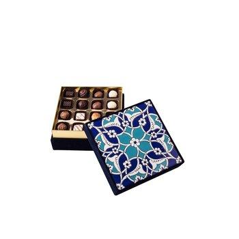 - Hediyelik Spesiyal Çikolata Mavi Çini Kutu