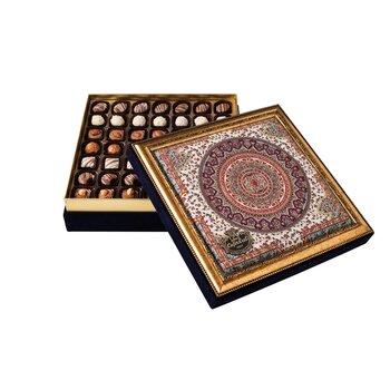 - Hediyelik Spesiyal Çikolata Osmanlı Deseni Kutu