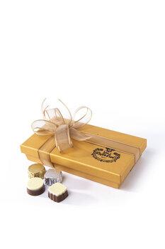 - Hoş Geldin Ramazan Temalı El Yapımı Çikolata - 120 Gr.