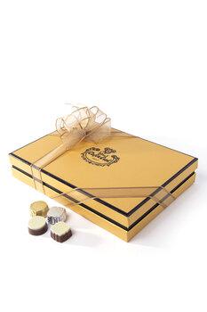 - Hoş Geldin Ramazan Temalı El Yapımı Çikolata - 350 Gr.