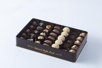 - Kahverengi Teneke Kutu Spesiyal Çikolata - 500 Gr.