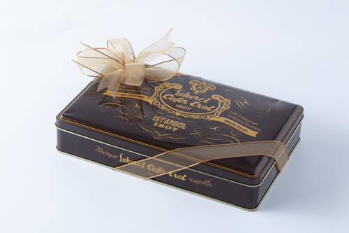 Kahverengi Teneke Kutu Spesiyal Çikolata - 500 Gr.