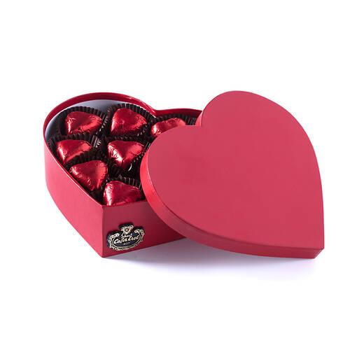 Karton Kalp Kutuda Spesiyal Çikolata - 11 Adet