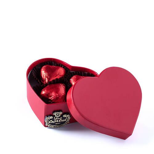 Karton Kalp Kutuda Spesiyal Çikolata - 3 Adet