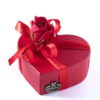 - Karton Kalp Kutuda Spesiyal Çikolata - 7 Adet