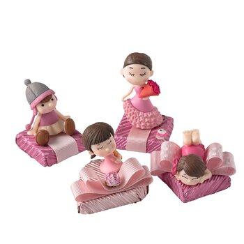 - Kız Bebek Doğum Çikolatası Kız Bebek Figürlü