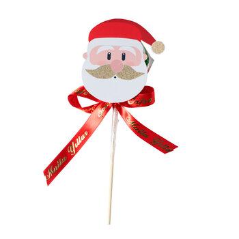 - Küçük Boy Lolipop - Noel Baba 5 Adet