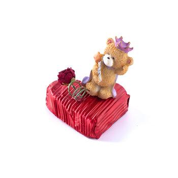 - Sevgililer Günü Çikolatası Kalp 3 Adet - Kral Ayıcık