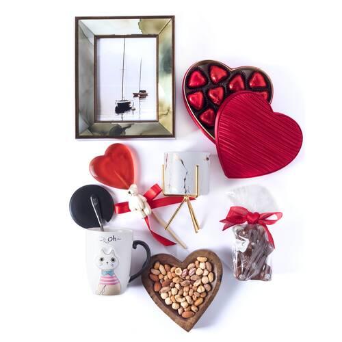 Sevgililer Günü Hediye Sepeti - Royal