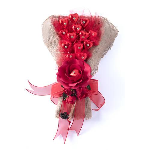 Sevgililer Günü Spesiyal Çikolata Demeti - 14 Adet
