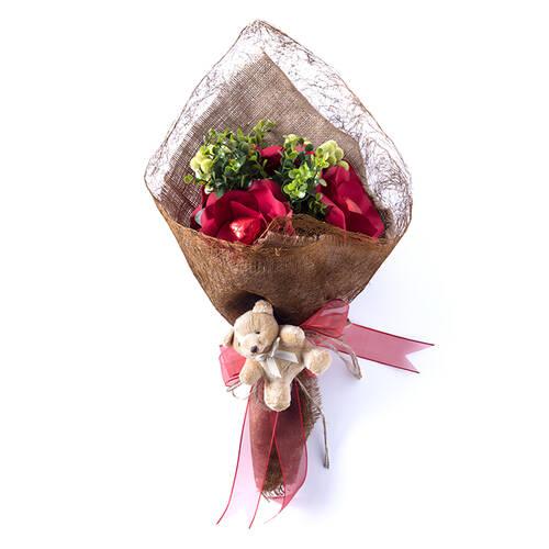 Sevgililer Günü Spesiyal Çikolata Demeti - 5 Adet