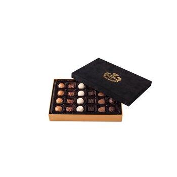- Spesiyal 24'lü Siyah Tay Tüyü Kutu Çikolata