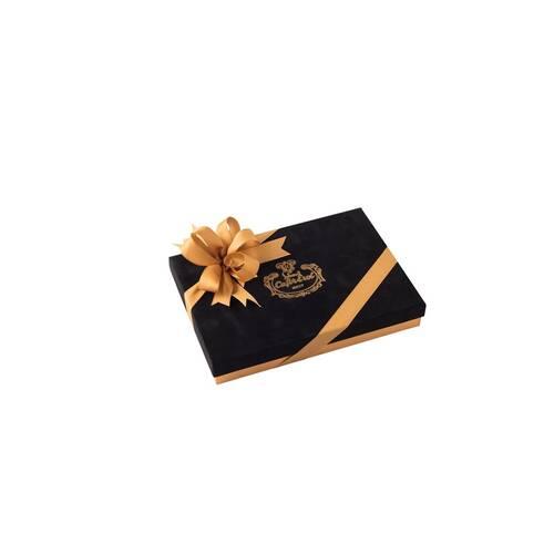 Spesiyal 24'lü Siyah Tay Tüyü Kutu Çikolata