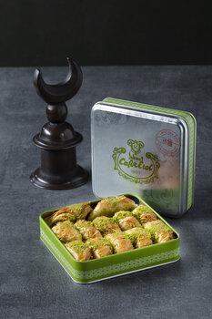 - Yeşil Teneke Kutu - Fıstıklı Kaymaklı Tereyağlı Şöbiyet