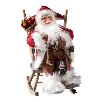 - Yılbaşı Aksesuar Sandalyede Noel Baba