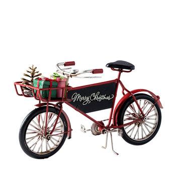 - Yılbaşı Aksesuarı - 2 Tekerlekli Bisiklet Kırmızı