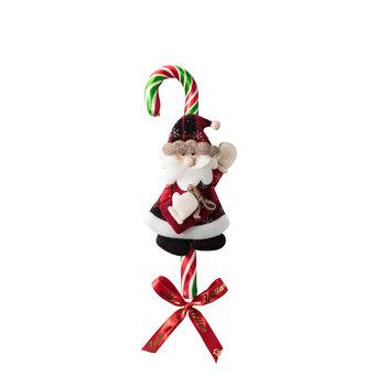 - Yılbaşı Büyük Baston Şeker Hello Noel Baba - 5 Adet