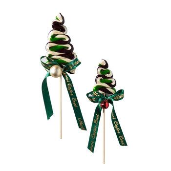 - Yılbaşı Şekeri Küçük Çam Ağacı - 5 Adet